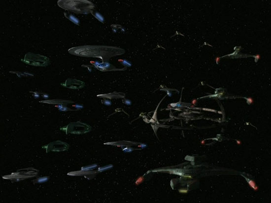 Alliance Fleet departs for Cardassia