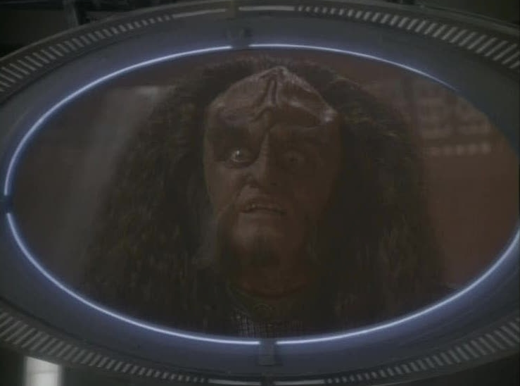 Gowron's ultimatum
