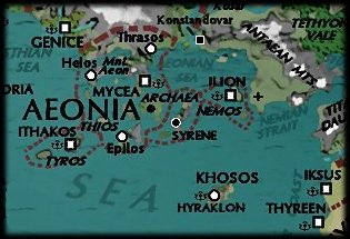 Map of Aeonia